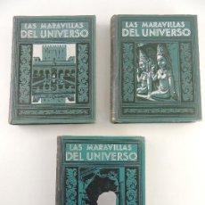 Livres anciens: MARAVILLAS DEL UNIVERSO - J.G.GUIÑON - EDITOR JOAQUIN GIL. Lote 204547863