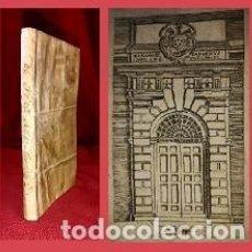 Livres anciens: 1615. BELLO LIBRO EN PERGAMINO. NO CATALOGADO (LEER). Lote 204610220