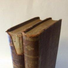 Libri antichi: 1879 - BALMES - EL PROTESTANTISMO COMPRADO CON EL CATOLICISMO - 4 TOMOS, OBRA COMPLETA. Lote 204612963