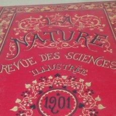 Libros antiguos: LIBRO LA NATURE 1902 CIENCIA FRANCE. Lote 204643188