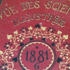 Libros antiguos: LIBRO LA NATURE 1881CIENCIA FRANCE. Lote 204656407
