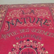 Libros antiguos: LIBRO LA NATURE 1883 CIENCIA FRANCE. Lote 204658323