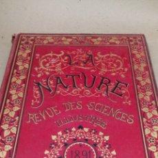 Libros antiguos: LIBRO LA NATURE 1881 CIENCIA FRANCE. Lote 204665086