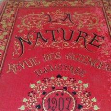Libros antiguos: LIBRO LA NATURE 1902 CIENCIA FRANCE. Lote 204665855