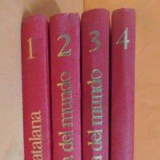 Libros antiguos: CIEN AÑOS DE VIDA CATALANA + CIEN AÑOS DE LA VIDA DEL MUNDO + DE AYER A HOY - 4 TOMOS LA VANGUARDIA. Lote 204675136