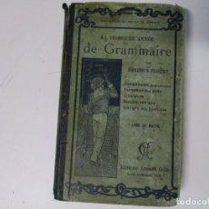 Libros antiguos: ANTIGUO LIBRO EN FRANCES AÑO 1902 LE FALTA LA PRIMERA HOJA. Lote 204678416