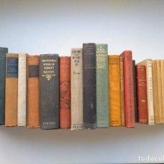 Libros antiguos: LOTE DE 22 LIBROS DE PRINCIPIOS DEL SIGLO XX, ALGUNO ANTERIOR Y POSTERIOR, LA MAYORÍA EN INGLÉS. Lote 204706321