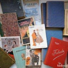 Libros antiguos: LOTE DE 20 LIBROS DESDE SIGLO XIX HASTA MEDIADOS DE SIGLO XX. VER FOTOS.. Lote 204707600