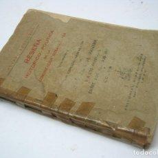 Libros antiguos: 1930 RESEÑA HISTORICO-POLITICA DE LA COMUNICACION INTER-OCEANICA PANAMA ESTADOS UNIDOS Y COLOMBIA. Lote 204720986