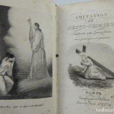Livres anciens: IMITACION DE JESUS CHRIST PARIS AÑO 1887. Lote 204751923