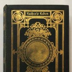 Libros antiguos: LUTHERS LEBEN.. Lote 204762208
