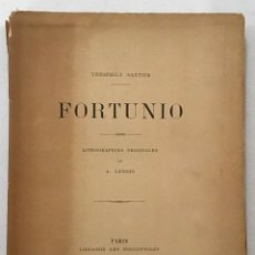 Libros antiguos: FORTUNIO.. Lote 204771180