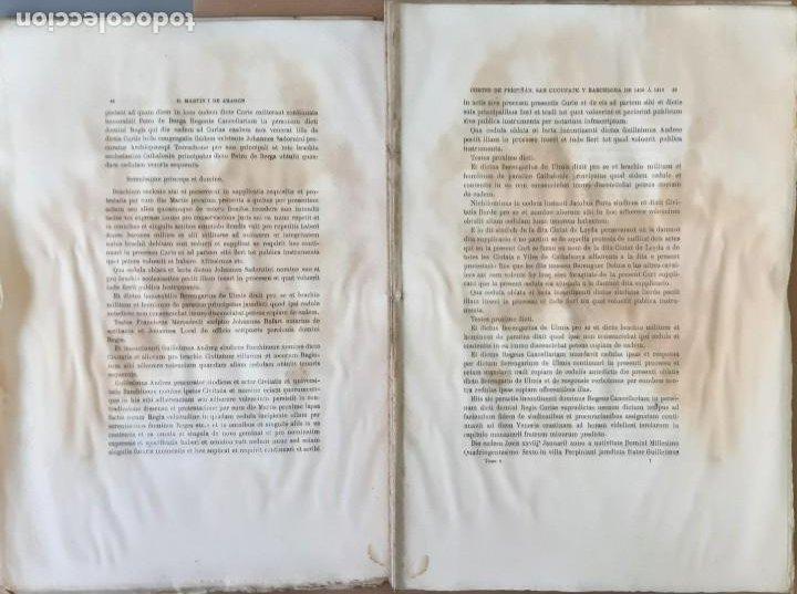 Libros antiguos: CORTES ANTIGUOS REINOS DE ARAGÓN Y VALENCIA Y PPAD. CATALUÑA TOMO V. CORTES DE CATALUÑA 1901 EN RAMA - Foto 3 - 204792455
