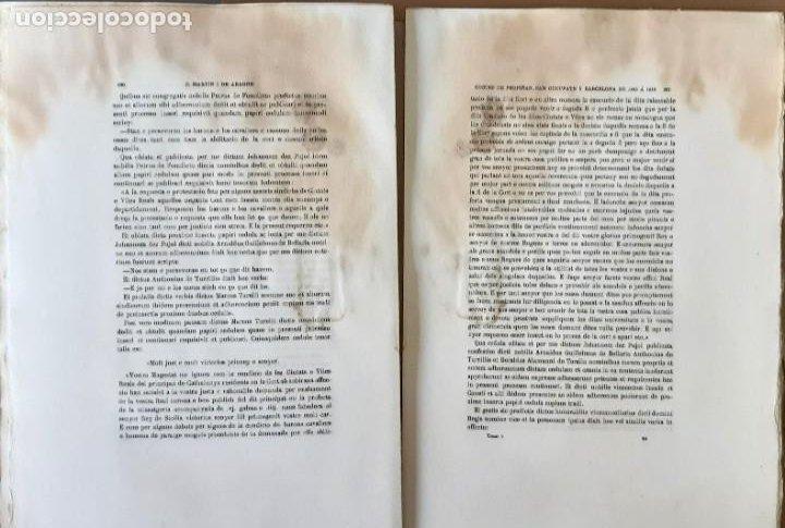 Libros antiguos: CORTES ANTIGUOS REINOS DE ARAGÓN Y VALENCIA Y PPAD. CATALUÑA TOMO V. CORTES DE CATALUÑA 1901 EN RAMA - Foto 4 - 204792455