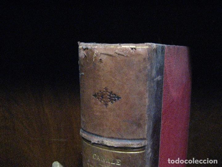 Libros antiguos: 1872 Historia del origen itálico y de la casa de Saboya, José Miguel Canale, Madrid. 2 tomos en uno - Foto 4 - 205064536