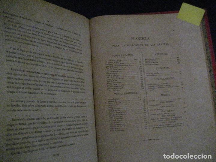 Libros antiguos: 1872 Historia del origen itálico y de la casa de Saboya, José Miguel Canale, Madrid. 2 tomos en uno - Foto 10 - 205064536