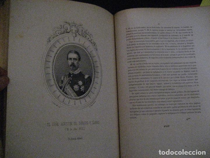 Libros antiguos: 1872 Historia del origen itálico y de la casa de Saboya, José Miguel Canale, Madrid. 2 tomos en uno - Foto 14 - 205064536