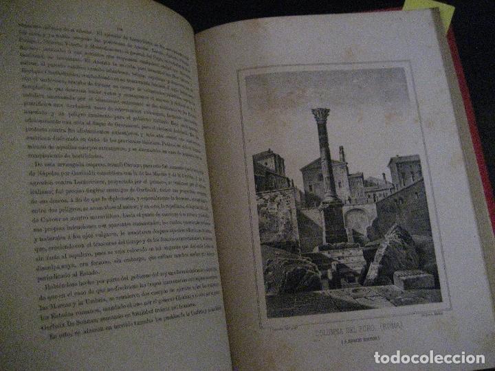 Libros antiguos: 1872 Historia del origen itálico y de la casa de Saboya, José Miguel Canale, Madrid. 2 tomos en uno - Foto 18 - 205064536
