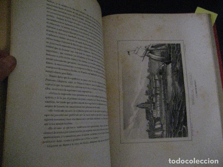 Libros antiguos: 1872 Historia del origen itálico y de la casa de Saboya, José Miguel Canale, Madrid. 2 tomos en uno - Foto 23 - 205064536