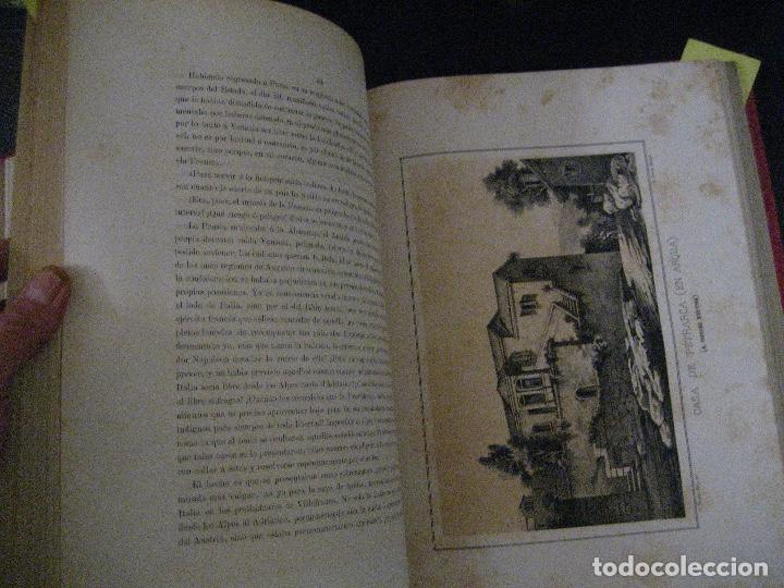 Libros antiguos: 1872 Historia del origen itálico y de la casa de Saboya, José Miguel Canale, Madrid. 2 tomos en uno - Foto 24 - 205064536