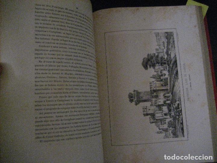 Libros antiguos: 1872 Historia del origen itálico y de la casa de Saboya, José Miguel Canale, Madrid. 2 tomos en uno - Foto 25 - 205064536