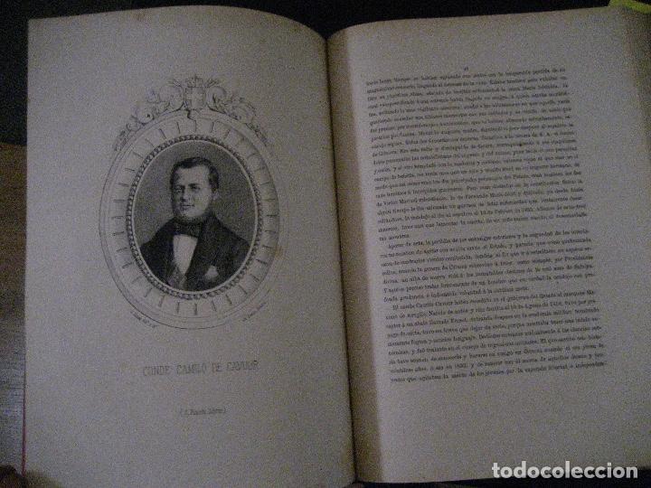 Libros antiguos: 1872 Historia del origen itálico y de la casa de Saboya, José Miguel Canale, Madrid. 2 tomos en uno - Foto 27 - 205064536