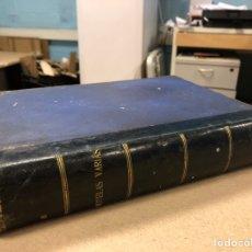 Libros antiguos: LOTE DE 12 NOVELAS COLECCIÓN BIBLIOTECA ALREDEDOR DEL MUNDO. ENCUADERNACIÓN HOLANDESA. Lote 205098882