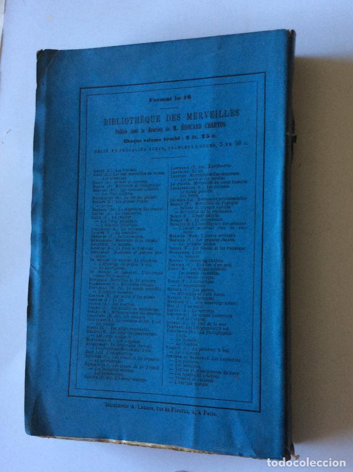 Libros antiguos: LE TELÈPHONE PARIS AÑO 1878. BIBLIOTHEQUE DES MERVEILLES . FRANCES - Foto 4 - 205104647