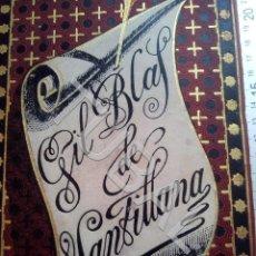 Libros antiguos: TUBAL 1882 LIBRO MODERNISTA GIL BLAS DE SANTILLANA COLECCION ARTES Y LETRAS U26. Lote 205179012