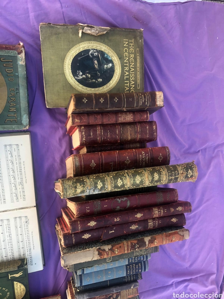 Libros antiguos: Gran lote de libros antiguos xix y XX (leer la descripción) - Foto 2 - 205192881
