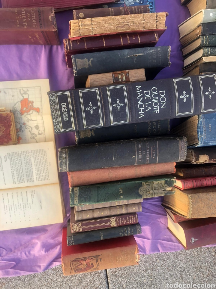 Libros antiguos: Gran lote de libros antiguos xix y XX (leer la descripción) - Foto 6 - 205192881