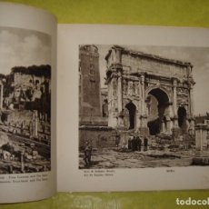 Livres anciens: ROMA.ALBUM ARTÍSTICO CON 132 FOTOGRAFÍAS. AÑO 1938.. Lote 205245142