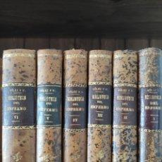 Libros antiguos: BIBLIOTECA DEL ENFERMO. BALTASAR VELEZ 6VOL.COMPLETA.BARCELONA 1900.. Lote 205249141