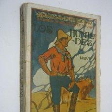 Libros antiguos: LOS HUMILDES. GRAZIA DELEDDA ( PREMIO NOBEL EN 1927) BIBLIOTECA PATRIA - ILUSTRACIONES LUIS PALAU. Lote 205250176