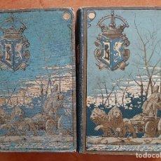 Libros antiguos: 1882 - SAINETES - RAMÓN DE LA CRUZ / DOS TOMOS ILUSTRADOS. Lote 205302688