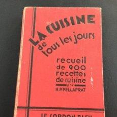 Libros antiguos: LA CUISINE DE TOUS LES JOURS - LE CORDON BLEU - 1920. Lote 205331553