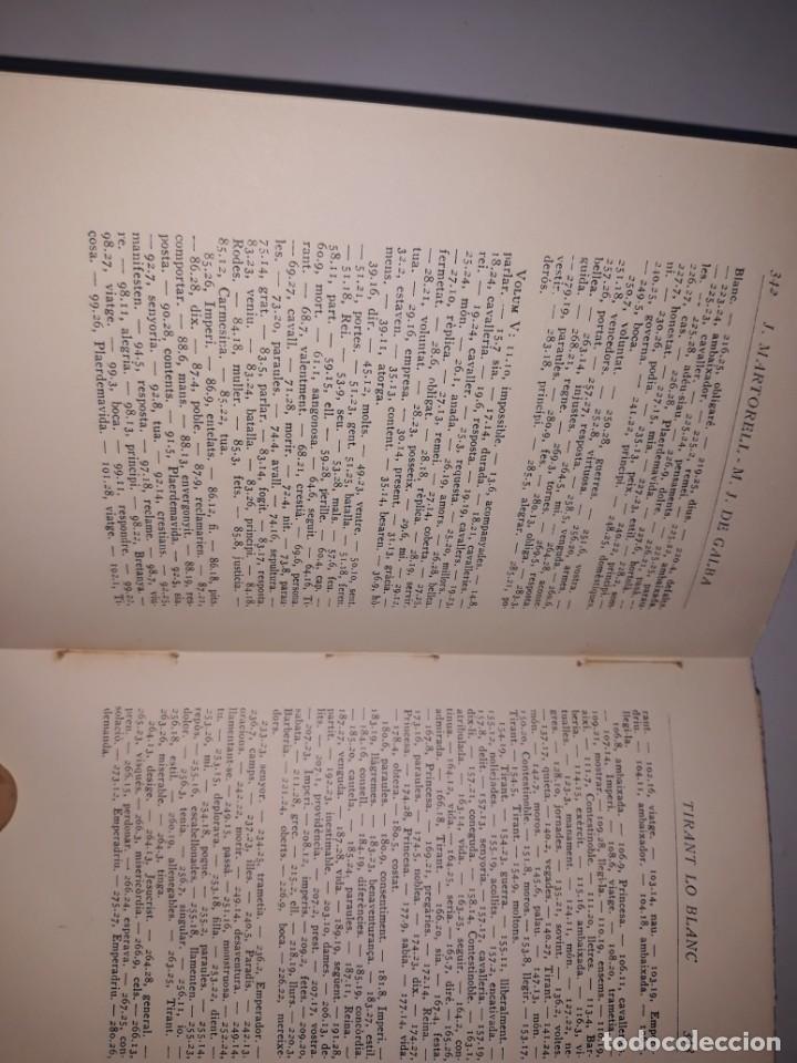 Libros antiguos: Tiran lo blanc ,vol.5/ joan mortorell i marti joan de galba- ed.barcino,barcelona 1929 - Foto 3 - 205388446