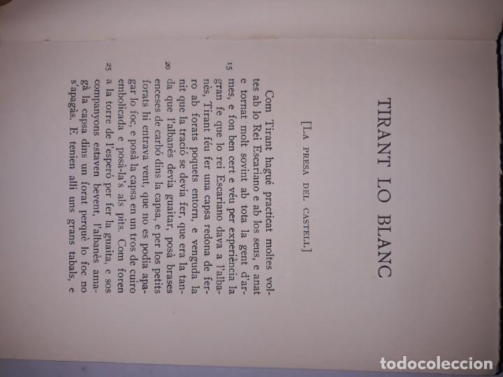 Libros antiguos: Tiran lo blanc ,vol.5/ joan mortorell i marti joan de galba- ed.barcino,barcelona 1929 - Foto 7 - 205388446