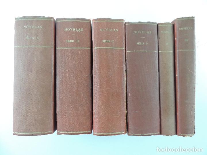 5 TOMOS CON ANTIGUAS NOVELAS-LA NOVELA DE LA LIBERTAD (Libros Antiguos, Raros y Curiosos - Literatura - Otros)