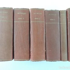 Libros antiguos: 5 TOMOS CON ANTIGUAS NOVELAS-LA NOVELA DE LA LIBERTAD. Lote 205439848