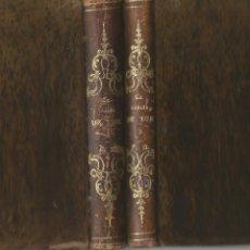 Libros antiguos: LA CHOZA DE TOM CABAÑA ENRIQUETA BEECHER STOWE MADRID 1852 PRIMERA Y SEGUNDA PARTE COMPLETA. Lote 205440996