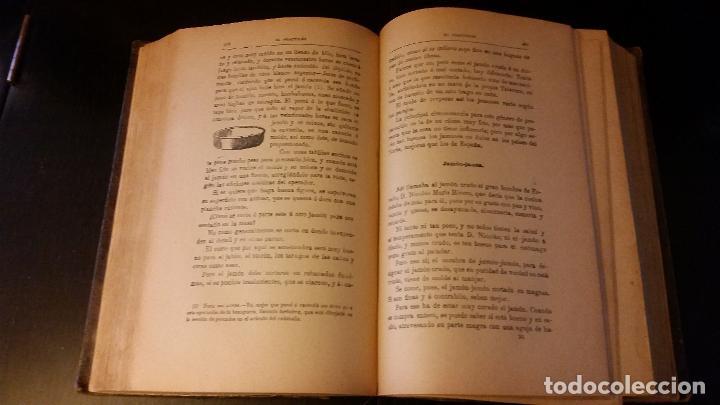 Libros antiguos: 1903 - ángel muro - El Practicón. Tratado completo de cocina al alcance de todos - Foto 3 - 205572932