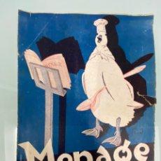 Libros antiguos: REVISTA MENAGE NUM. 43 AGOSTO 1934 AÑO IV. Lote 205583313