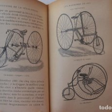 Libros antiguos: 1891 BAUDRY DE SAUNIER HISTORIA GENERALE DE LA BICICLETA RARO. Lote 205590962