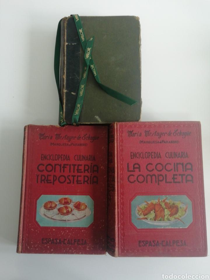 ANTIGUOS LIBROS DE COCINA....DE 1910 Y 1947 (Libros Antiguos, Raros y Curiosos - Cocina y Gastronomía)