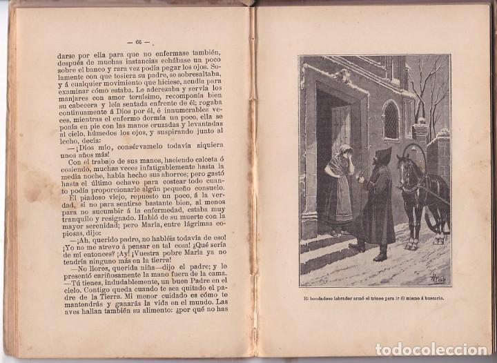 Libros antiguos: EL CANASTILLO DE FLORES - C. SCHMID - SATURNINO CALLEJA - Foto 3 - 205670668