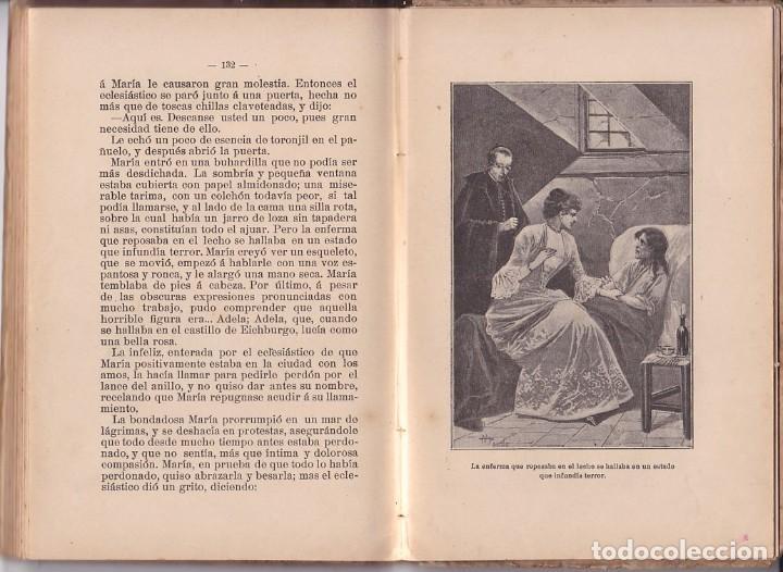 Libros antiguos: EL CANASTILLO DE FLORES - C. SCHMID - SATURNINO CALLEJA - Foto 4 - 205670668