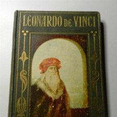 Libros antiguos: POCH NOGUER, J. VIDA GLORIOSA DE LEONARDO DE VINCI (LOS GRANDES HECHOS DE LOS GRANDES HOMBRES). Lote 205670756