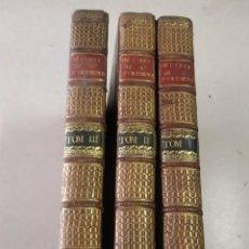 Libros antiguos: OEUVRES MESLÉES DE MR. DE SAINT-EVREMOND - 3 TOMOS - AÑO 1709. Lote 205679747