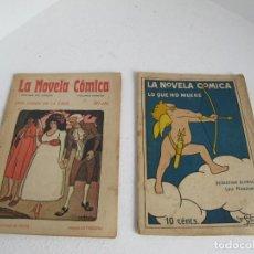 Livres anciens: LOTE DE 2 DE LA NOVELA COMICA / VOLUMEN PRIMERO / BUEN ESTADO / VER FOTOS. Lote 205724271